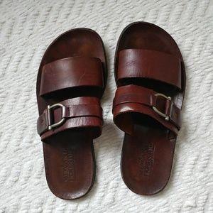 Mercanti Fiorentini leather sandals